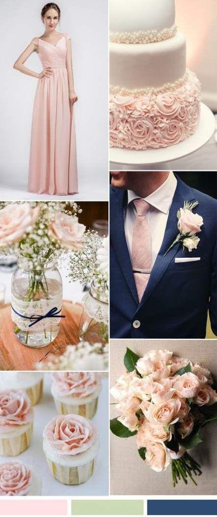 The Prettiest Rose Gold and Blush Wedding Ideas   Wedding