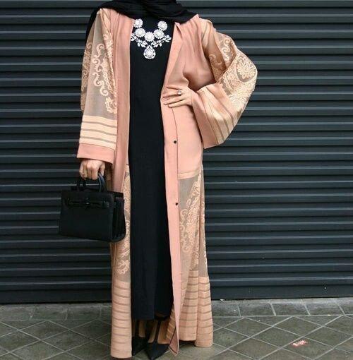 hijab, modern, and abaya image