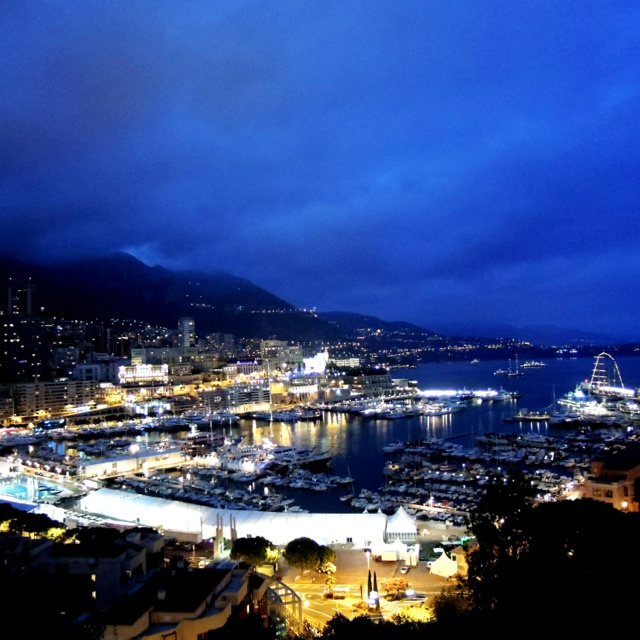 Monaco at night- The French Life in the Côté D'azur