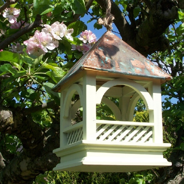 bird house...maybe a little less open for when the wind blows?