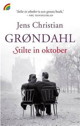 Stilte in oktober - Jens Christian Grondahl (Paperback, ISBN: 9789041709646 €8,-) Ontwerp: b'IJ Barbara.
