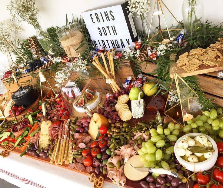 "227 Likes, 18 Comments - graze. gourmet platter co. (@grazegourmetplatterco) on Instagram: ""sunday grazing perfection - I put together this birthday grazing table today - in possibly one of…"""