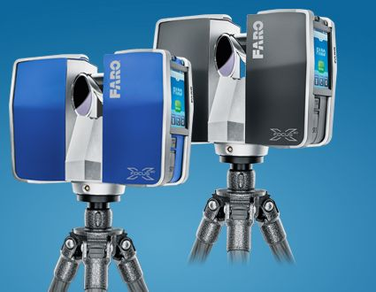 Faro... a camera look scanner http://www.faro.com/en-us/products/3d-surveying/faro-focus3d