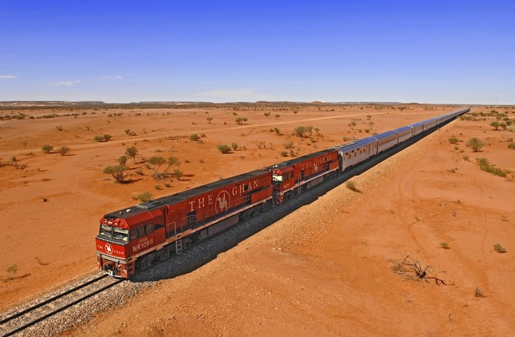 Australia Photo: Great Southern Rail. Adelaide - Alice Springs - Darwin or visa versa