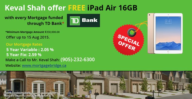 Check out special Mortgage offers offered by Keval Shah.