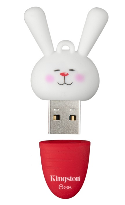 "2011 Chinese New Year USB Flash drive - Year of the Rabbit....Oh my god, this is so cute. I want one even though ""rabbit"" is not my year. (#Kingstontech)"