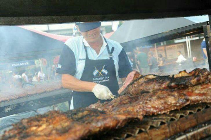 Bontà gastronomiche dall' Argentina,al Mercato Europeo a Senigallia Edizione 2016...!