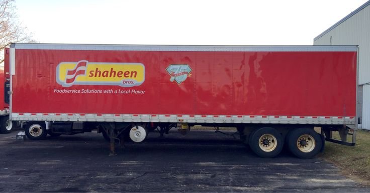 Shaheen Bros. 75th Anniversary Decal Production/Installation.