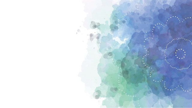 Blue Elegant Watercolor Powerpoint Background Picture Nghệ Thuật