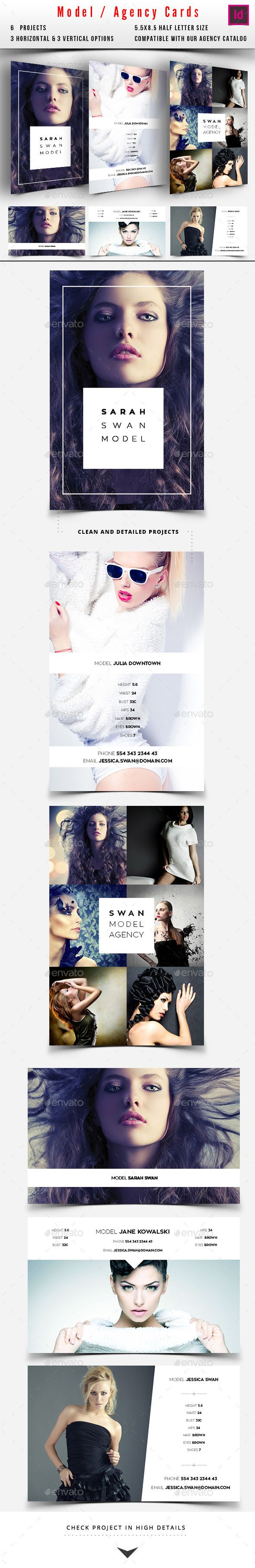 Model / Agency Comp Card — InDesign INDD #Modeling Comp Card #modeling agency • Available here → https://graphicriver.net/item/model-agency-comp-card/10335994?ref=pxcr