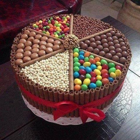 DER Süßigkeiten-Kuchen! ; cake für candy-lovers ♥