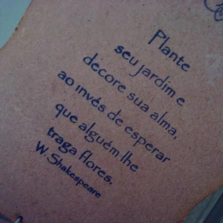 Mensagens de William Shakespeare - Plante seu jardim e decore sua alma
