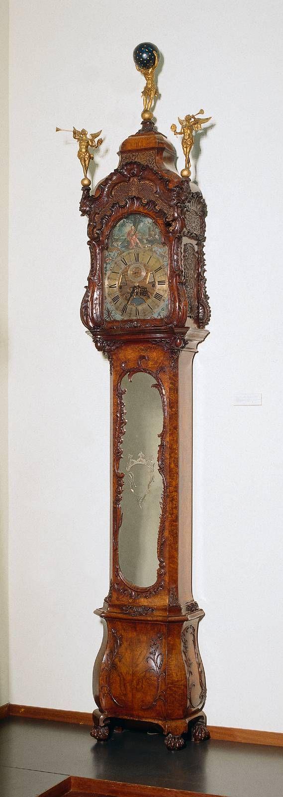 longcase clock 1750 breda