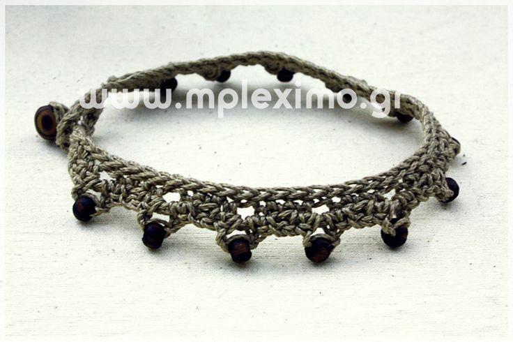 crochet foot bracelet