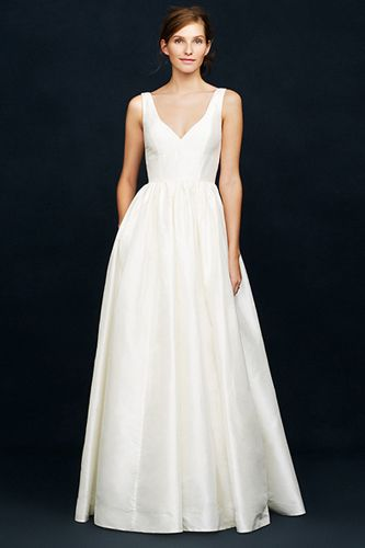 J.Crew's Spring Wedding Lookbook Goes After The Minimalist Bride's Heart #refinery29