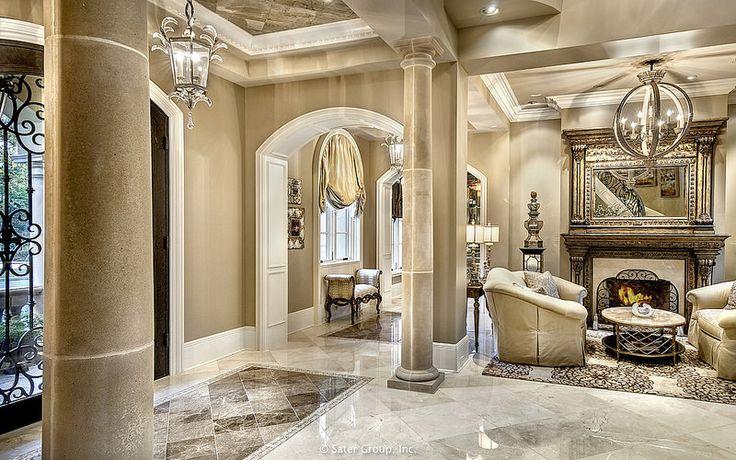 Villa Belle - living room | bởi The Sater Group, Inc.