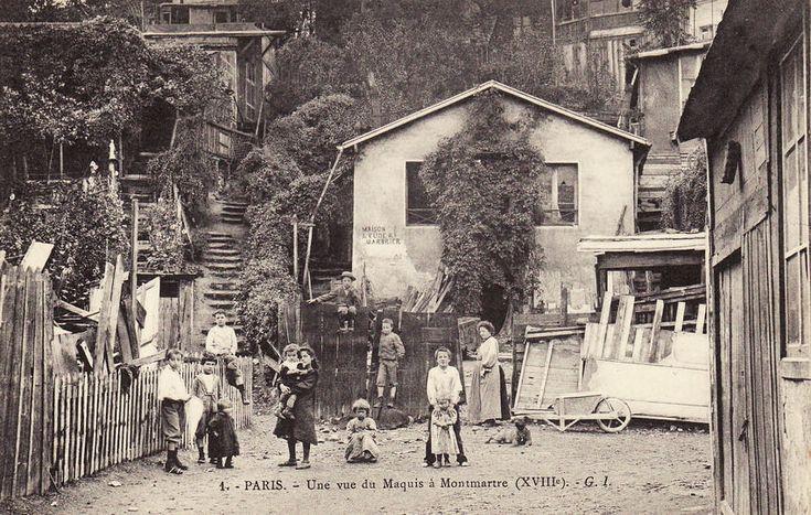 Le Maquis (Montmartre), Paris 1903                                                                                                                                                                                 Plus