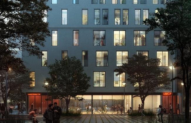Многоквартирный дом на 27-й улице. Предоставлено adAPT NYC