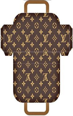 Free printable - a selection of Louis Vuitton purses/trinket boxes. ❊