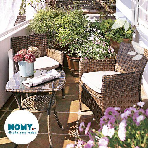#terraza #flores #homy #deco #balcon