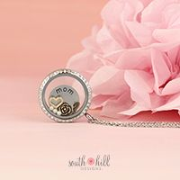 MIXED-METALS MOTHER For all she's done, all the work that went unnoticed and unthanked, and for all the time she spent listening, caring and loving, show your mom how much she means to you with our latest Mixed-Metals Mother's Day Locket! Our new locket features the Large Silver Crystal Locket, three Vanilla Pearls, a Gold Vintage Rose, Gold Angel Wing, and Gold Heart to symbolize your love for the angel in your life, your mom.