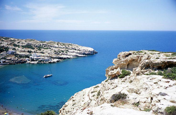 Matala Crete https://www.flickr.com/photos/fluffisch/19301022511/