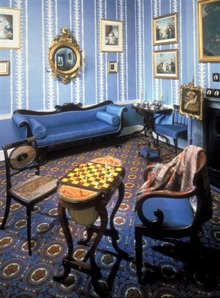 Geffrye Museum, London. Showing interior design from 1600 so interesting for budding interior designers