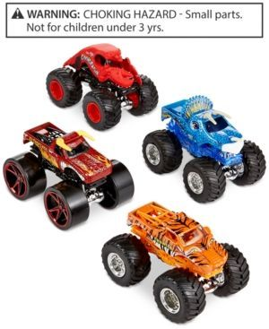 Mattel Hot Wheels Monster Jam Tour Favorites 4-Pack - Assorted