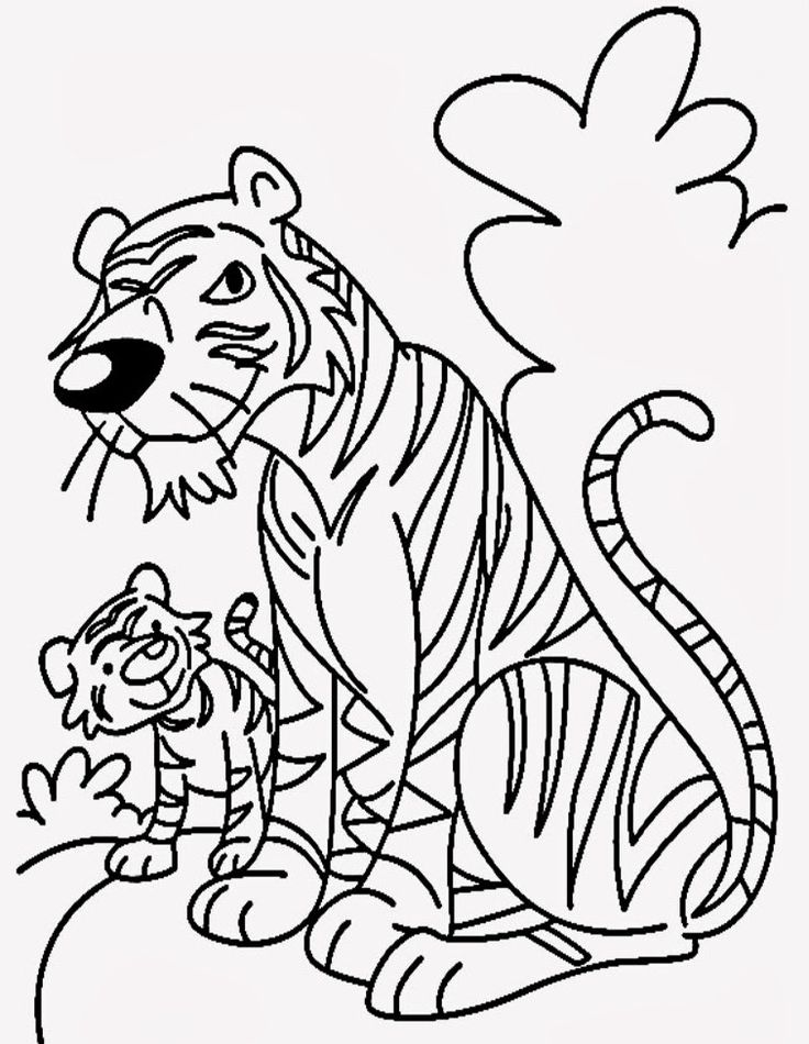 10 best tiger buddies images on Pinterest Cartoon pics, Tigers and - copy lsu tigers coloring pages