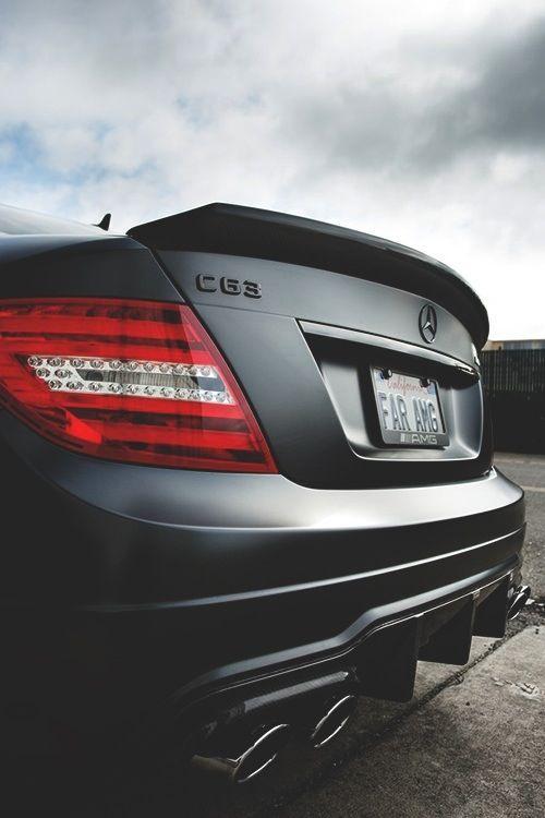 #Mercedes #Benz - #C63 #AMG:  Das #C-Klasse #Coupé präsentiert sich als C 63 AMG Sondermodell in seiner sportlichsten Variante.