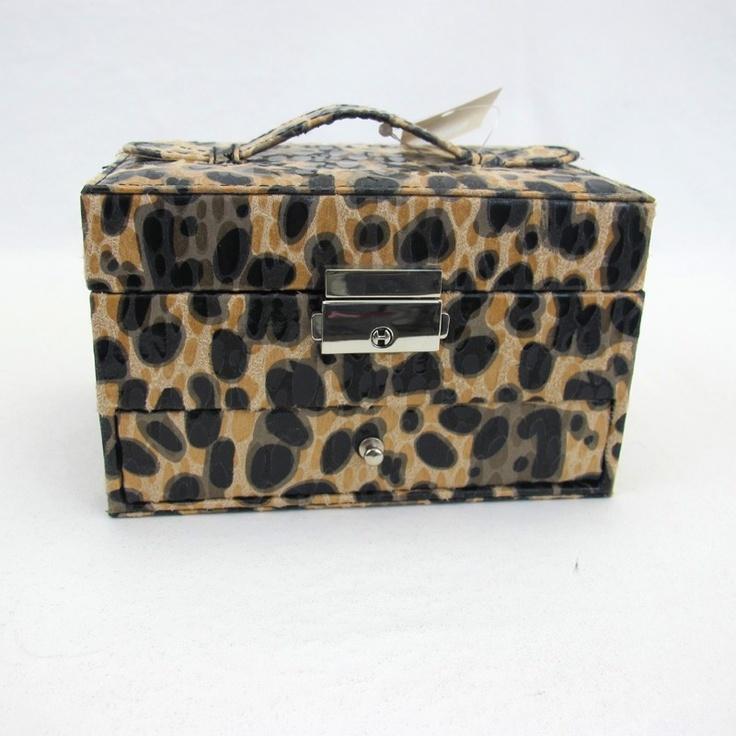 Women's Leopard Cheetah Print Fabric Jewelry Travel Box Case HolderJewelry Travel, Cases Holders, Travel Boxes, Prints Fabrics, Boxes Cases, Women Leopards, Leopards Cheetahs, Fabrics Jewelry, Cheetahs Prints