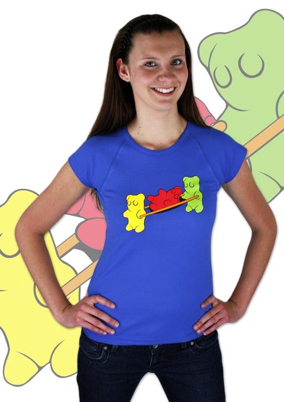 Gummibärchen Damen T-Shirt    http://www.bastard-shop.de/damen-t-shirts/gummibaerchen-damen-t-shirt-162/
