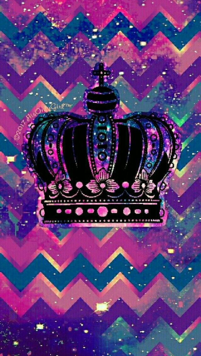 Hipster crown galaxy iPhone/Android wallpaper I created for the app CocoPPa!