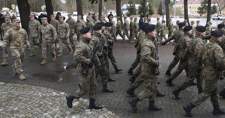 Spojené štáty a ďalšie západné krajiny uskutočnili v krajinách na východnom okraji Severoatlantickej aliancie už viacero vojenských cvičení.