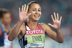 Jessica Ennis - Athlete