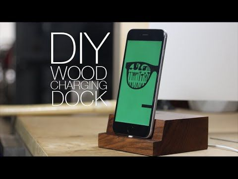 Giaco Whatever Collaboration Diy Wooden Iphone Charging Dock All Diy Tutorials Pinterest