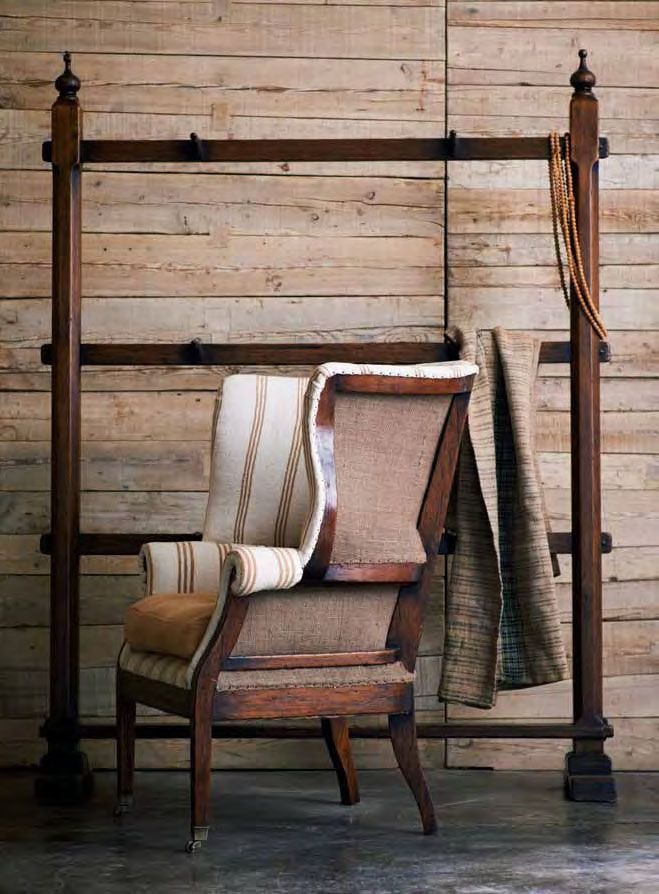 Beautiful The Vintage Inspired Hepplewhite Wing Chair From The RLH Collection U2014 With  Walnut Frame And A