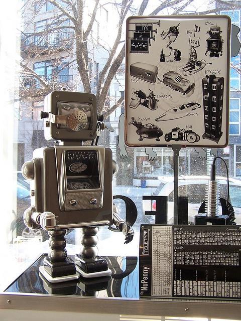 "Fantasy ""vintage"" toys by artist Randy Regier"