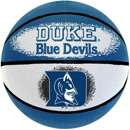 Gamemaster Ncaa 7 inch Mini Basketball, Duke University Blue Devils, White