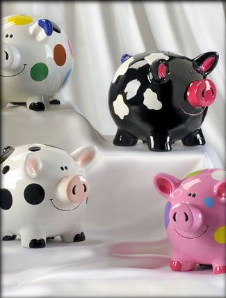 cute little piggy banks