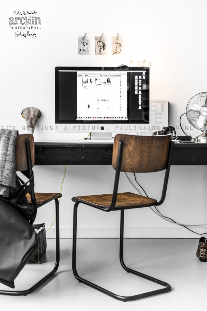 study, studio, office, home office, desk, interior design, interior decoration, interior styling, styling