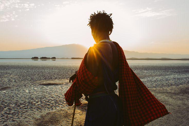 Tanzania, Lake Natron, Massai