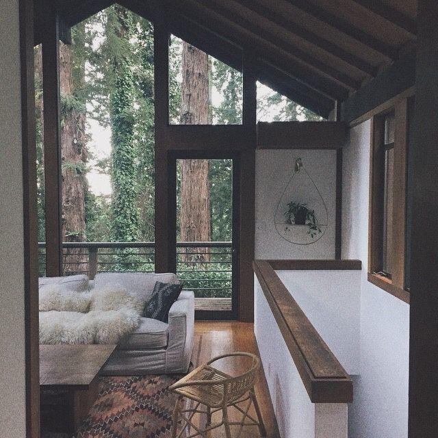 Modern Forest House: Best 25+ Modern Cabin Interior Ideas On Pinterest