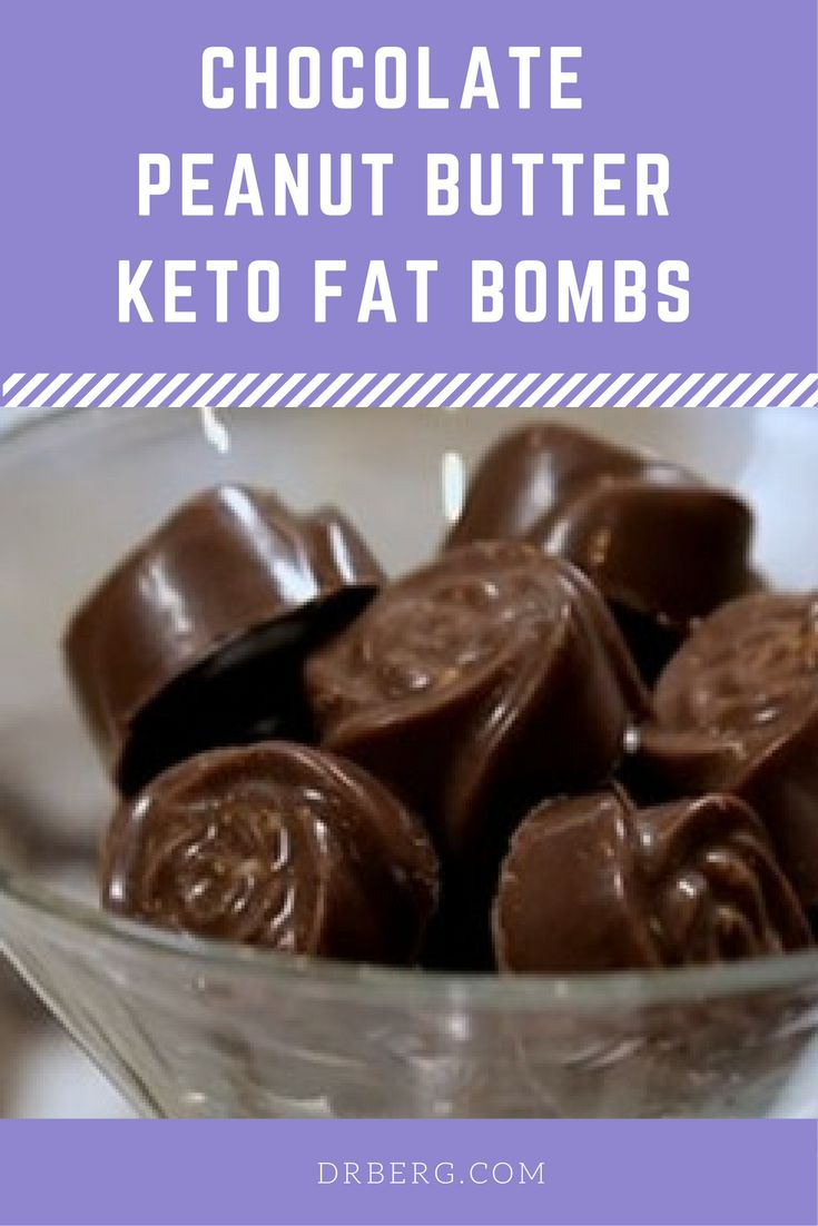 Chocolate Peanut Butter Keto Fat Bombs from Dr. Berg.   To see the full video and recipe visit:  https://www.drberg.com/blog/recipes/chocolate-peanut-butter-keto-fat-bombs