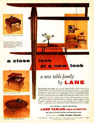 A Vintage Furniture Ad From Lane