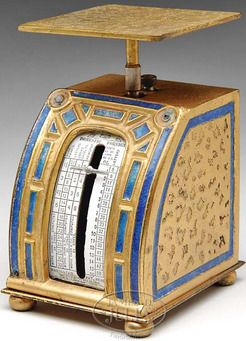 Tiffany Art Deco Postal Scale