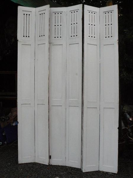 Antieke oude louvre deuren - Geëtst glas - Collection - Benko oude antieke bouwmaterialen