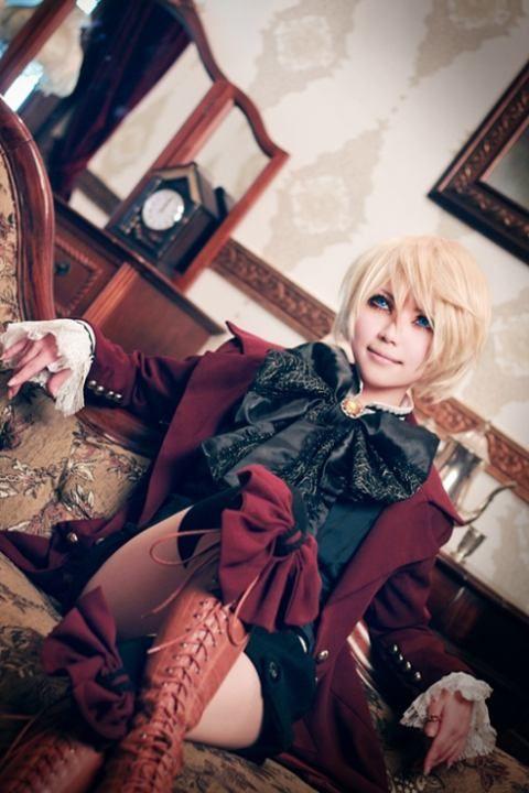 WOW really amazing Alois cosplay Black Butler II