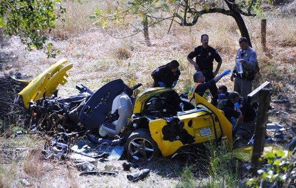 2012 Corvette Wreck