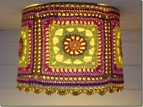 Casbah Lampshade...pretty!